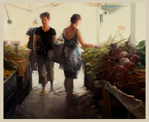 Union Square Market - Oil