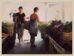 Union Square Market - Pastel